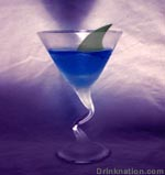 Blue Shark drink recipe