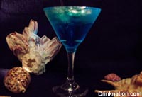 Caribbean Blues drink recipe