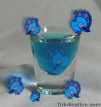 Fuzzy Blue Gobbler drink recipe