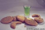 Green Cookie Monster drink recipe
