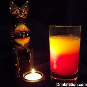 Voodoo Sunrise drink recipe